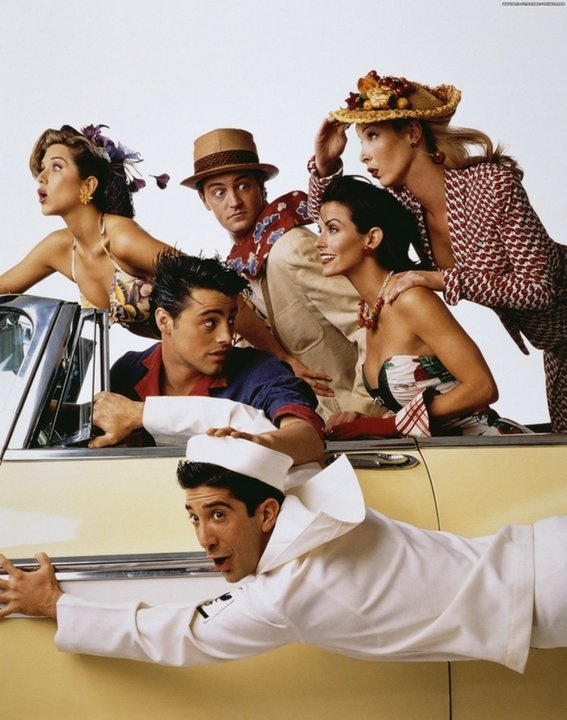 ph:Mark Seliger Cast of 'Friends',May 18, 1995, Rolling Stone