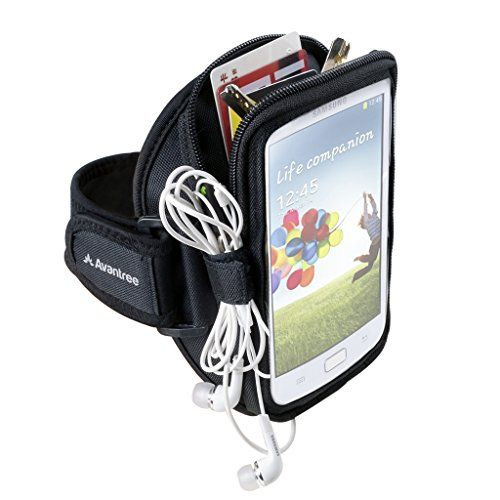 nice Avantree Trackpouch Sports Running / Gym / Jogging Exercise Neoprene Armband Case Pouch for iPhone 6/iPhone 6 Plus, Samsung Galaxy Note 4/Note 3, Samsung Galaxy S5/S4
