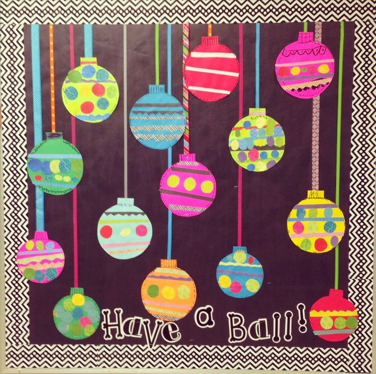 Festive Bulletin Board Idea