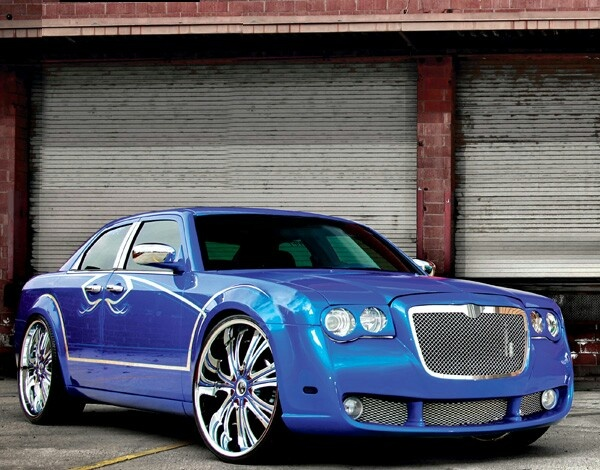 Chrysler 300- in beautiful blue!