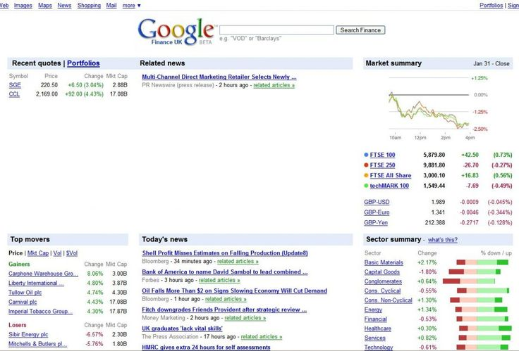 Google Finance UK goes live | Google has officially launched its UK version of Google Finance, claiming that the live stock-tracking and business information service is tailored to UK users Buying advice from the leading technology site