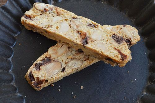 Chocolate and Nuts Biscotti