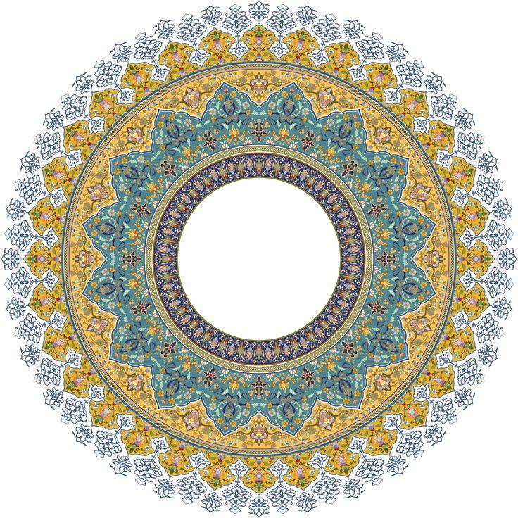 38-Floral Pattern (Khatai)