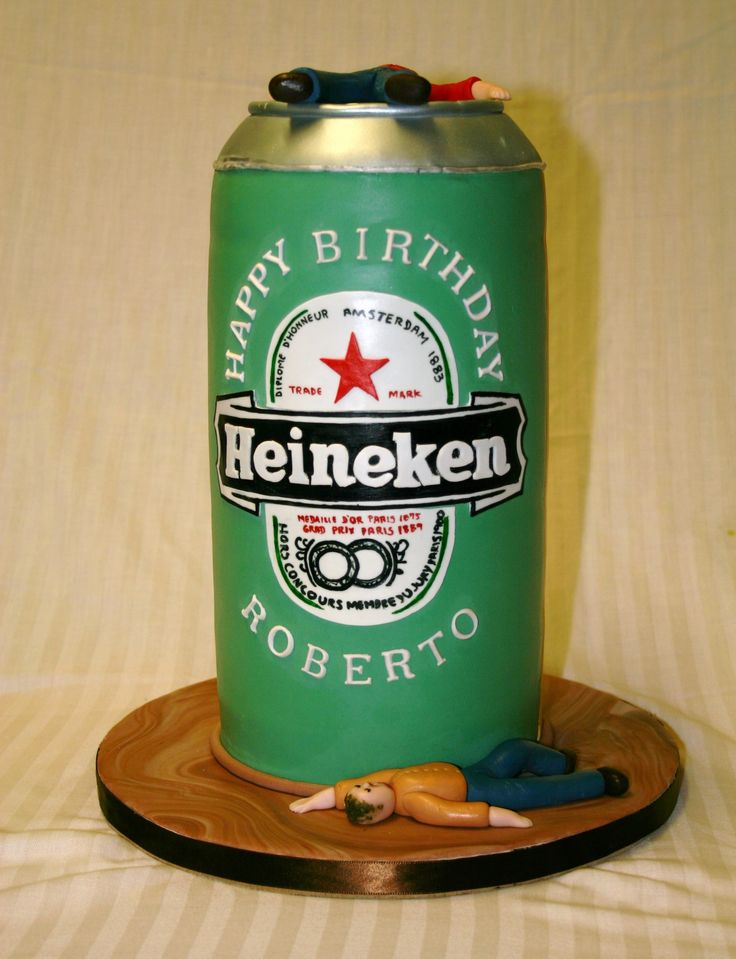 beer Birthday Cakes for Men | View Full Size