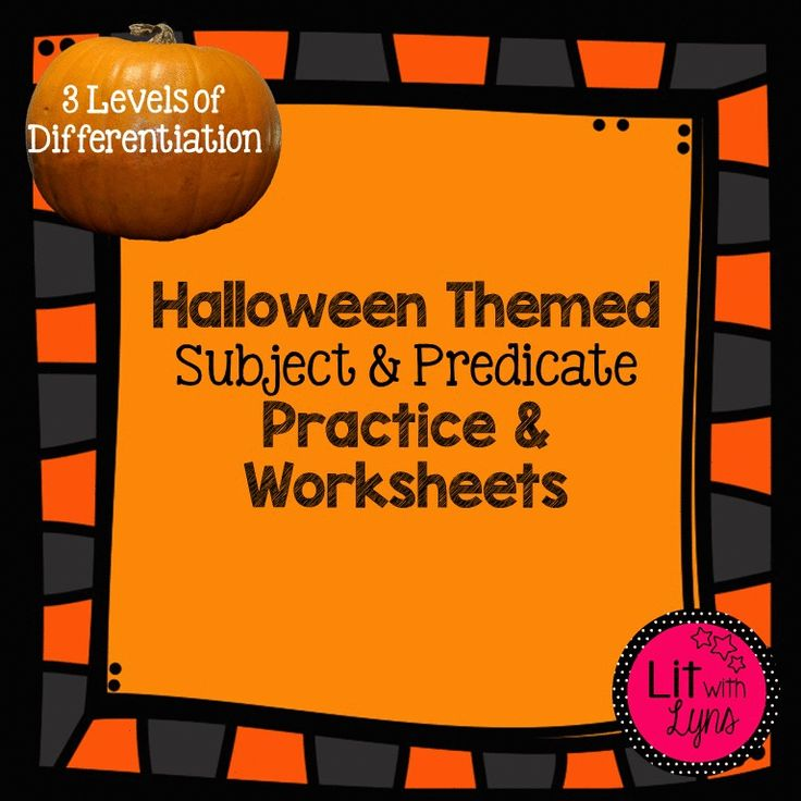 This product includes 3 levels of differentiation with 2 files--  --The first file explains complete and simple subject and predicate in detail and provides practice.  --The second file is a 2 page worksheet. The worksheet has 3 sections. The first 2 sections requires students to identify the complete and simple subject and predicate. The 3rd section asks students to add the missing subject or predicate to the sentence.