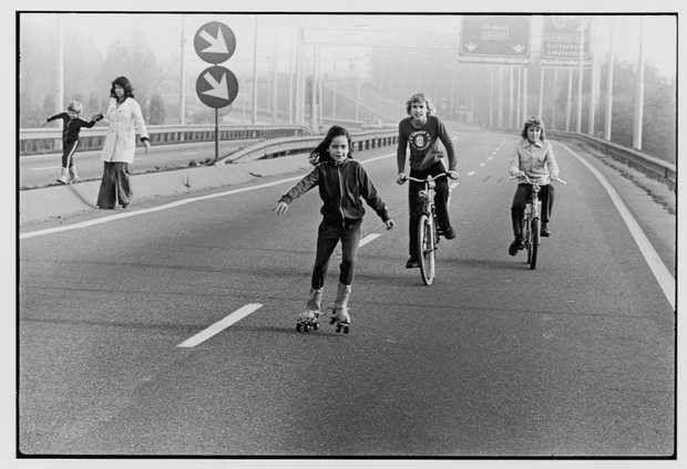 Autovrije zondag 70'er jaren
