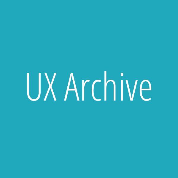 UX Archive