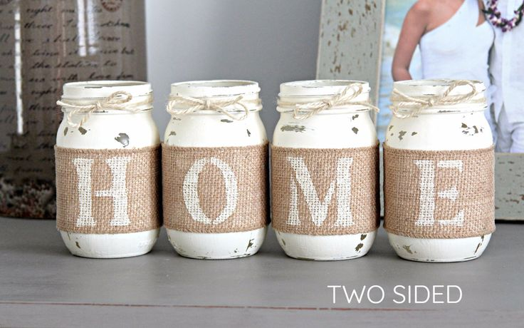Rustic Two Sided Farmhouse Home Decor - Housewarming Gift For New Homeowners