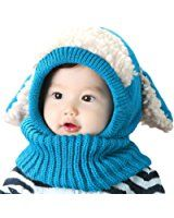 PanDaDa Baby Girls Boys Winter Hat Scarf Woolen Earflap Hood Scarves Skull Caps, 5 different color. Now price $7.62  when apply promotional code : 8XCO3J87 at checkout. original price: $10.89. It has  ...