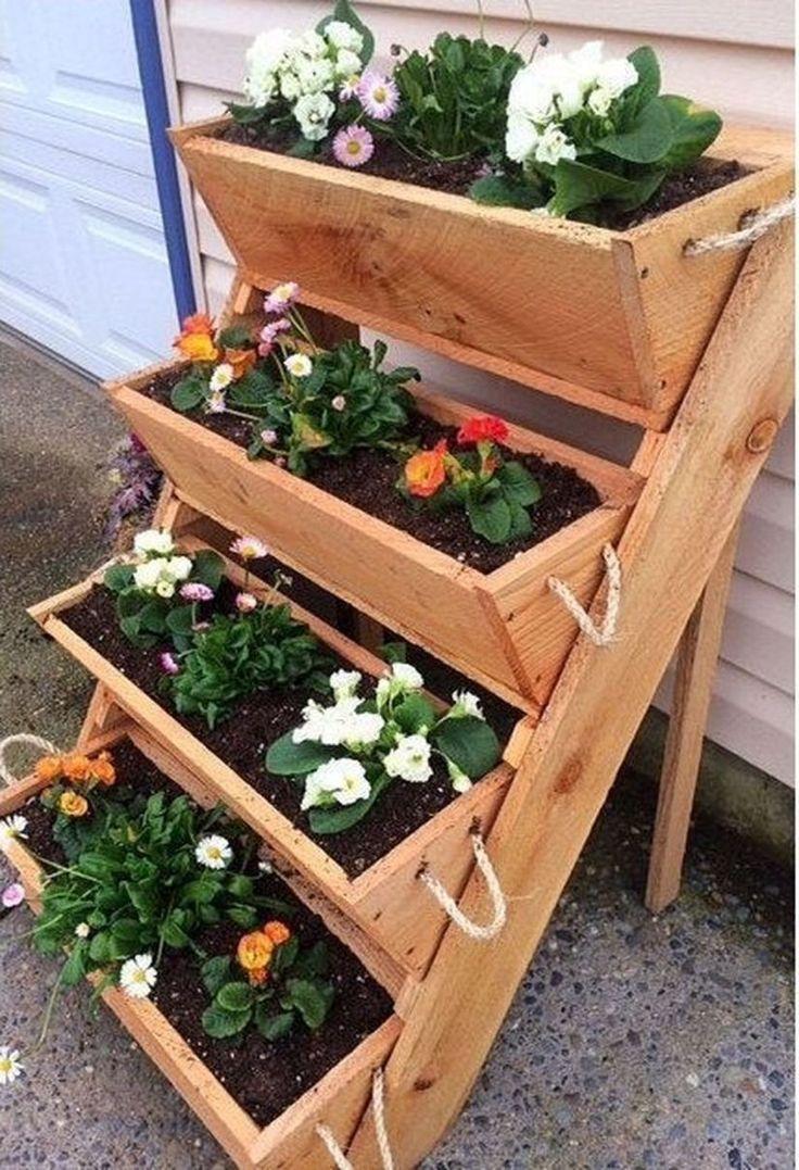 Easy Diy Wooden Raised Planter 280 Raised planter boxes
