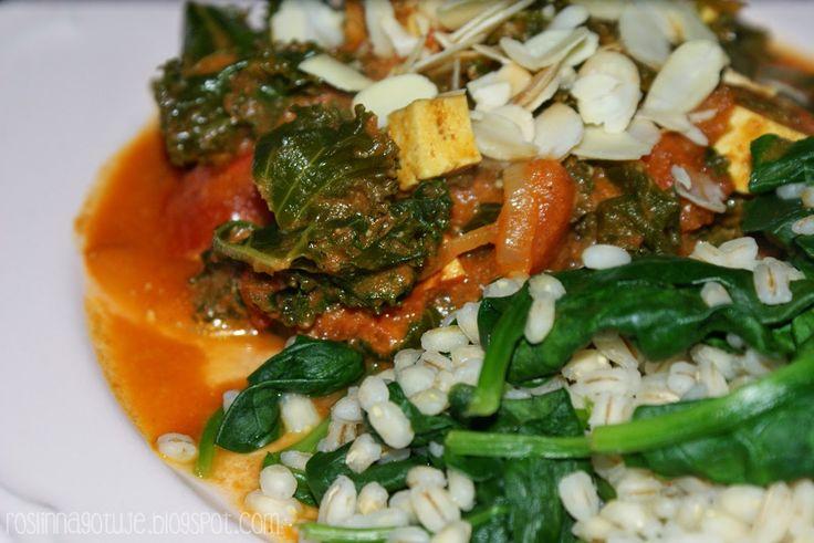 Jarmuż i pomidory