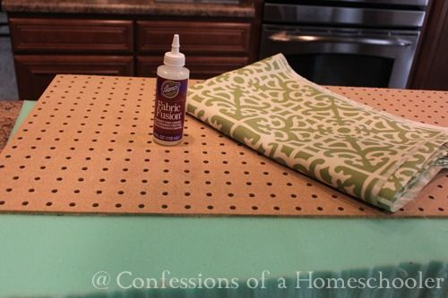 how to make a cushion for a bench!