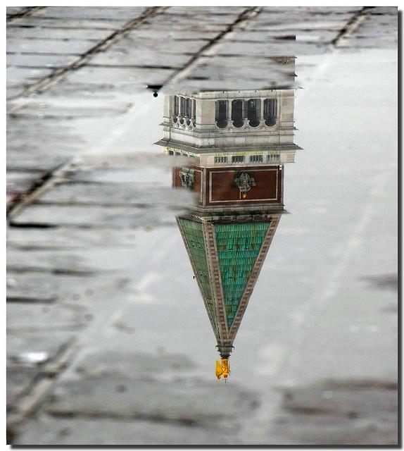 reflections of Venice, province of Venezia , Veneto region Italy
