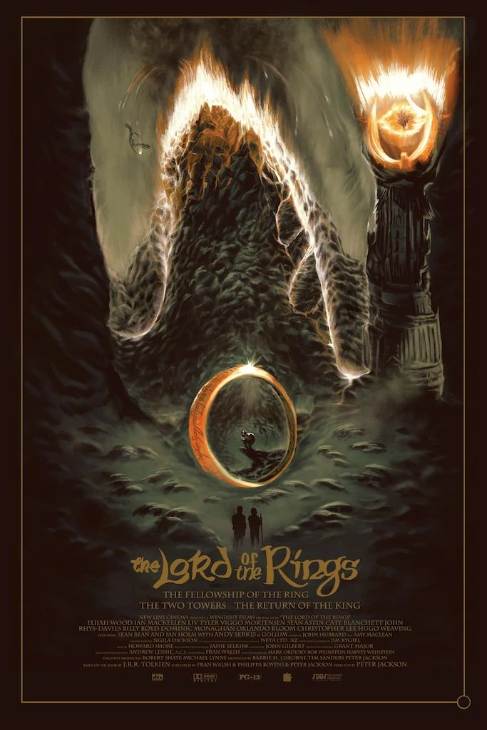 "Fernando Reza – ""Lord of the Rings""   – Film Posters & Paraphernalia"