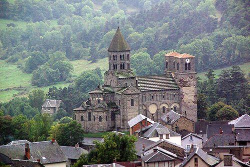 Saint Nectaire église. Puy de Dôme. Auvergne