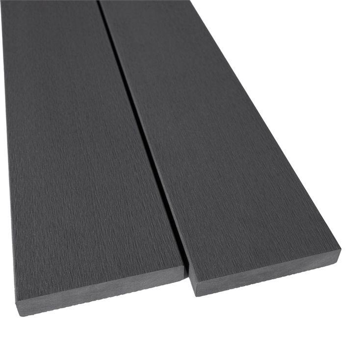 Ekodeck 137 x 23mm 5.4m Greystone Composite Decking