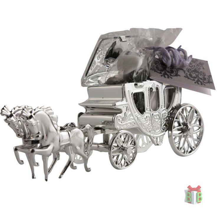 Zilver koets