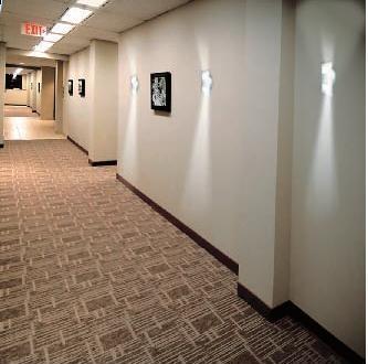 Lampi cu leduri pentru iluminat ambiental si decorativ trepte, scari interioare, holuri;