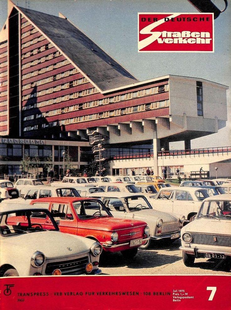 DDR 061 NR 7 1975 DER Deutsche Straßenverkehr Magazin Verkehr Fahrzeuge MOT | eBay