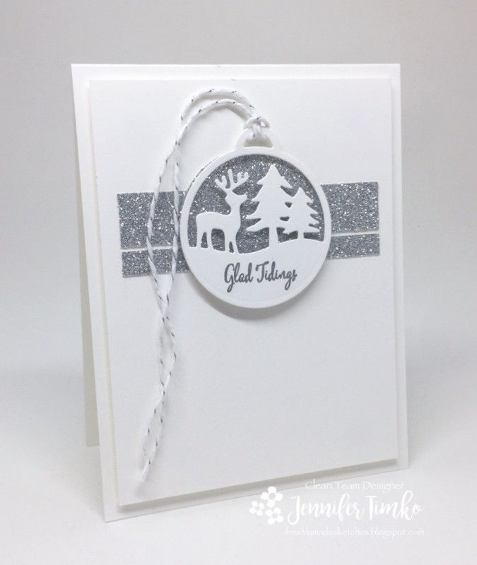 A card for Yvette's Snow Much Glitter Falliday Fest challenge (FF16Stampingcrazy) and this used the FMS259 sketch. I always struggle with glitter but this paper makes it a lot easier for me make everything sparkle (without my whole stamp room sparkling for months.....not that there is anything wrong with that!). All the details are here: http://stampinonthefly.com/2016/10/freshly-made-sketches-259/ Thanks for taking a closer look!