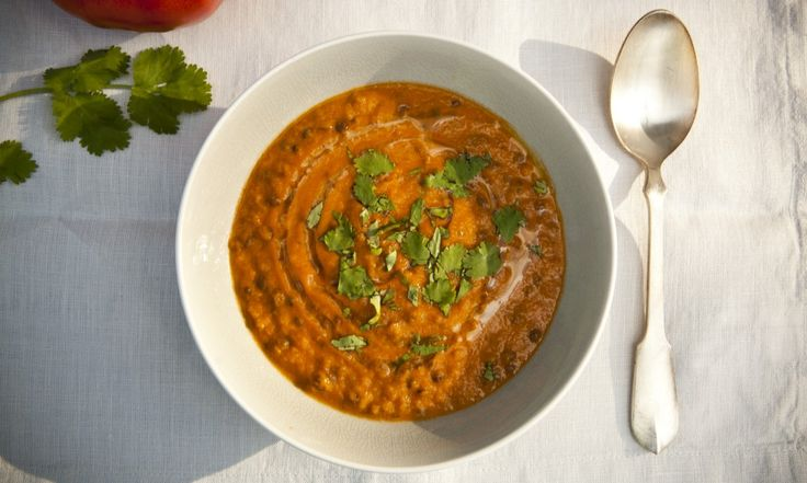 Zeleninová krémová polévka s čočkou | KITCHENETTE