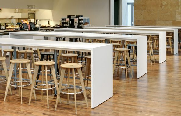 Vitra Furniture In Small Office Cafeteria Cafeteria