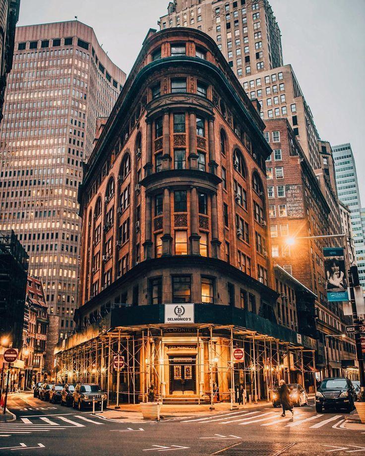 Joe Thomas On Instagram Twilight Lights In Lower Manhattan In 2020 City Aesthetic Urban Landscape City Photography