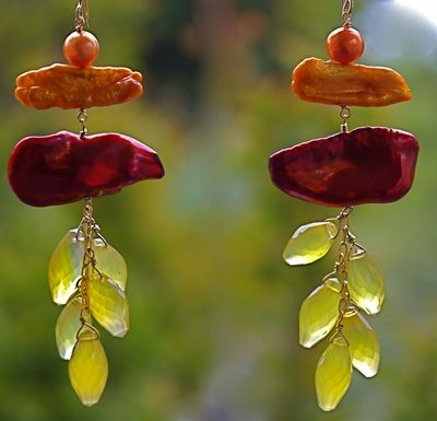 Yellow Blooming! Betsy Klein Jewelry