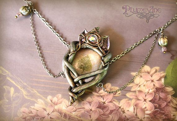 Elf Queen Jewels - OOAK Beautiful Jewelry from Plumevine <3