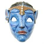 Neytiri Avatar Pandora Blue Tribal Mask