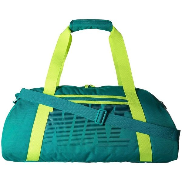 Nike Gym Club (Rio Teal/Volt/Midnight Turquoise) Duffel Bags ($35