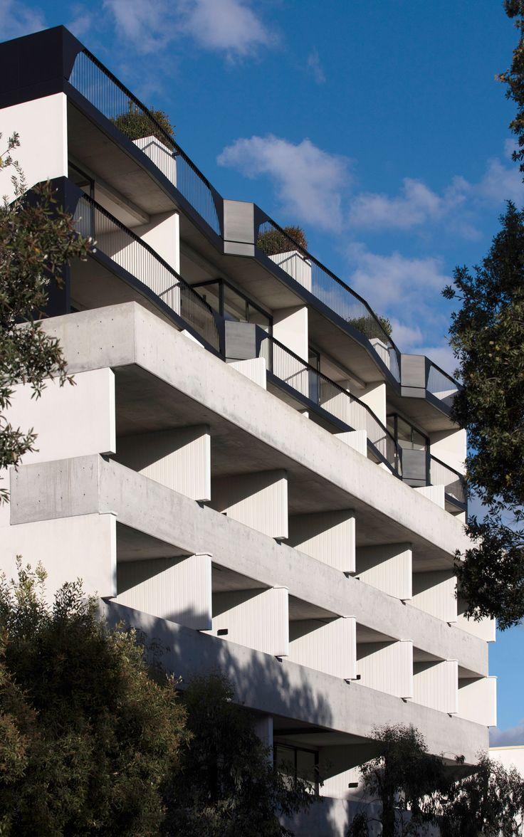 First Look at SJBs 41 Birmingham Apartments in Sydneys Alexandria.