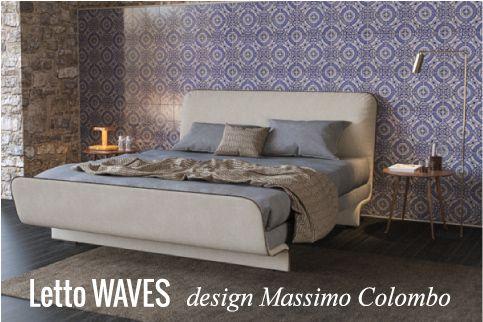 Letto Waves: stile e design per la camera da letto