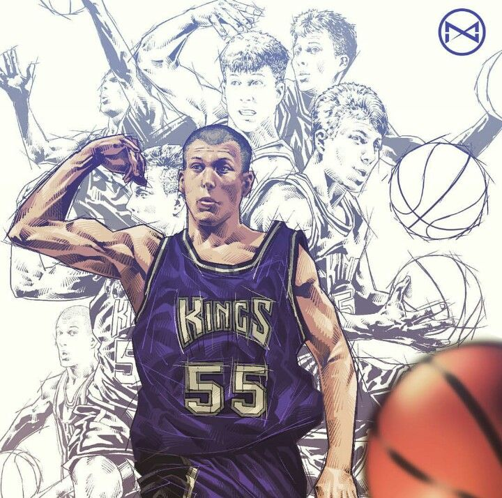 The player I tried to take after, White Chocolate is his stage name, but he goes by Jason Williams. I appreciated the different individual pics within the picture of how Williams is passing. The depth of this artwork was eye-popping and grabbed my attention immediately.