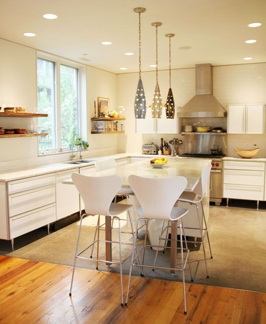 Hanging Kitchen Lights Over Island: 50 Best Images About Pendant Lights Over Kitchen Islands