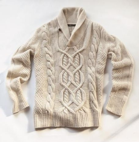 Men's wool nylon knit sweater, $265.00, Vince. (Wish I could afford this sweater!) | Essentials (men's accessories)