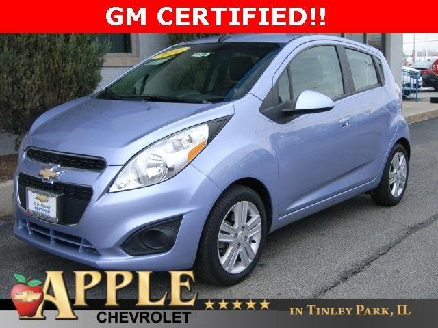 2014 Chevrolet Spark 1 LT - Certified - Stk # 51159 - $10,200 - http://www.applechevy.com/VehicleDetails/used-2014-Chevrolet-Spark-LT-Tinley_Park-IL/2666207433