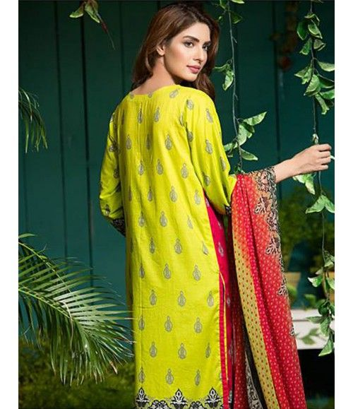 Signature Icon Embroidered Lawn Suit Collection Volume ll SI_9B