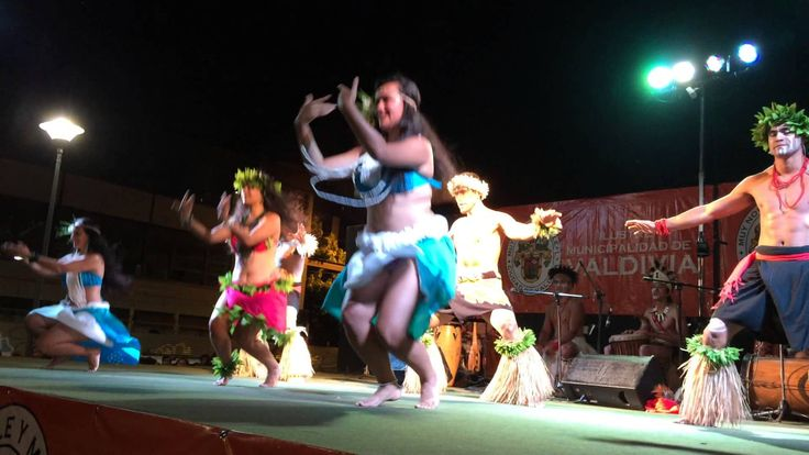 Ballet Puku Rangi Tea de Rapa Nui en Valdivia.