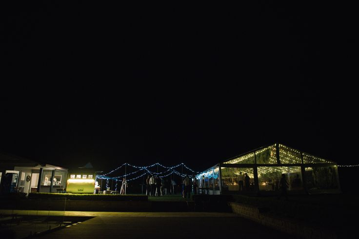 full clear marquee, fairy lights, south coast weddings, marquee weddings, south coast party hire