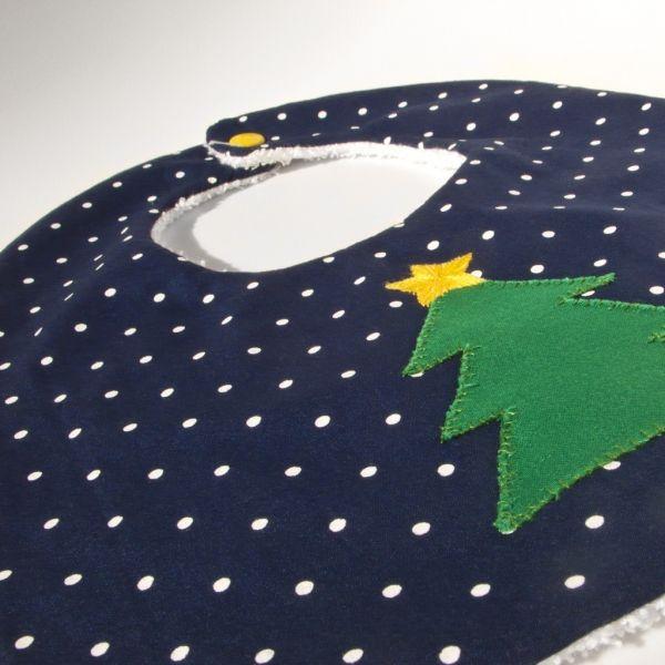 Σαλιάρα Χριστουγεννιάτικο Δέντρο