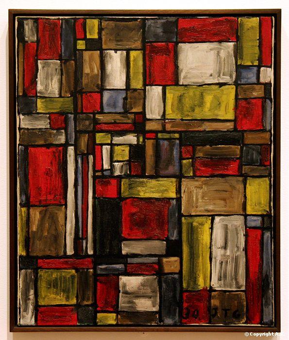Joaquin Torres-Garcia : Structure de couleur