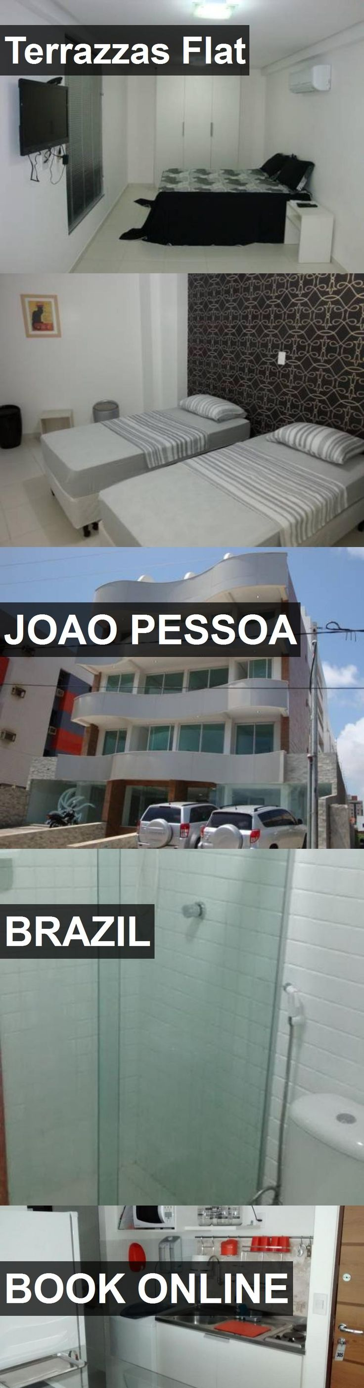 Hotel Terrazzas Flat in Joao Pessoa, Brazil. For more information, photos, reviews and best prices please follow the link. #Brazil #JoaoPessoa #TerrazzasFlat #hotel #travel #vacation