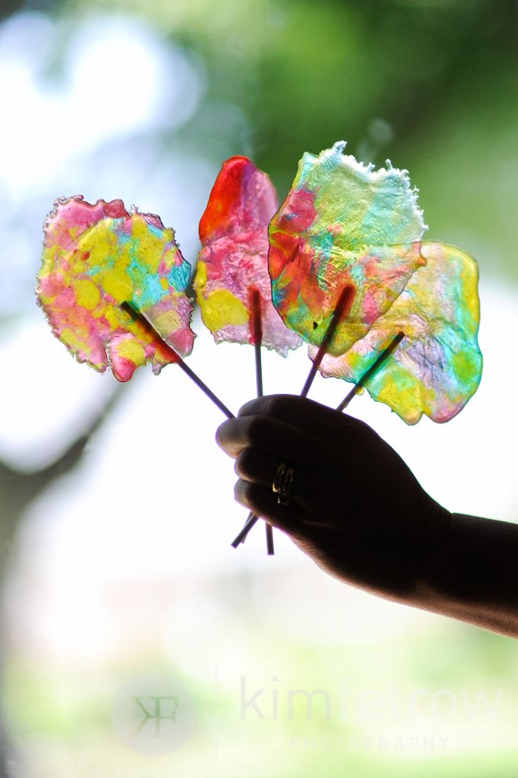 DIY Stained Glass Lollipops