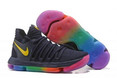 6ff65e46ff85 2019 的 Nike KD 10 Be True LGBT Pride Month For Sale