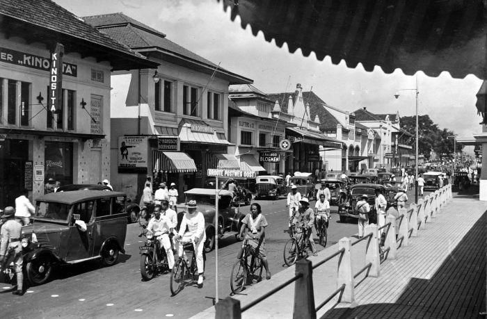 Jalan Braga or Bragaweg in 1920 - 1930s