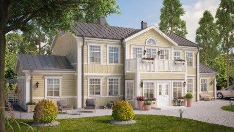 På Rörvikshus älskar vi Herrgårdsstil. Vi har ett stort utbud av arkitektritade hus för dig som gillar Herrgårdshus