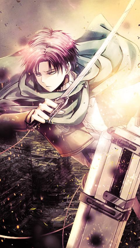 Levi Rivaille Attack on titan shingeki no kyojin