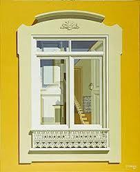 Lisbon windows by Maluda - Portuguese painter