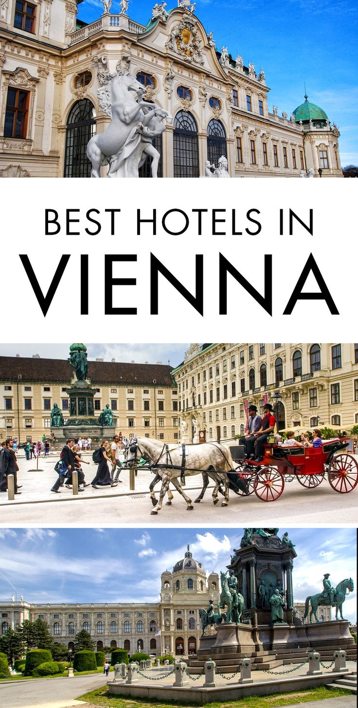 The ultimate travel guide to the best hotels in Vienna, Austria. Don't spend hours researching on where to stay in Vienna. Click the pin to find out what the best places to stay in Vienna are. #Vienna